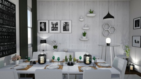 Table lit by Tiendanordic - by Tiendanordica