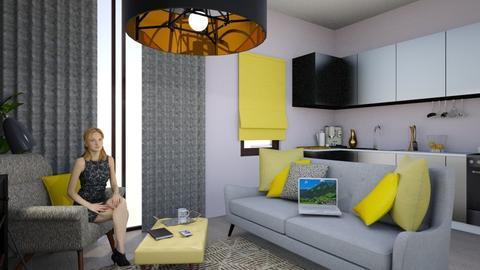 living room - Living room - by okularnica