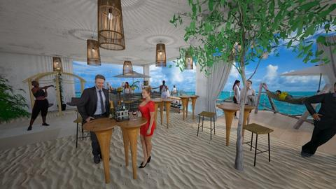 Tropical Bar - Kitchen - by PuggyPowerDesign
