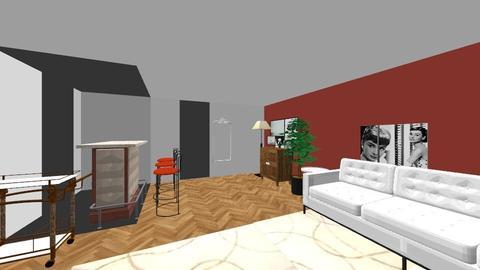 Wallen Bedroom1_Master - Glamour - Bedroom - by bdt