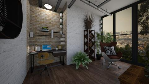 Industrialsmalloffice - Office - by swanwitch