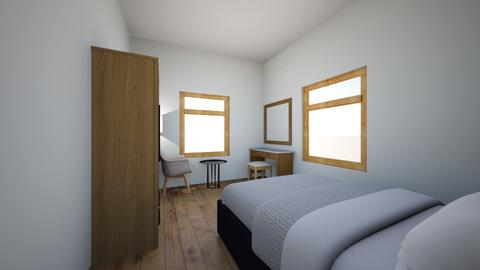 Deans Room New 2 - Minimal - Bedroom - by deanasor