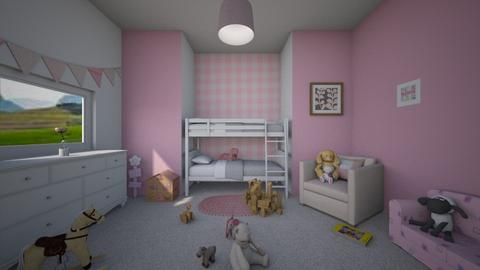 cotton candy - Classic - Kids room - by darcyclayton