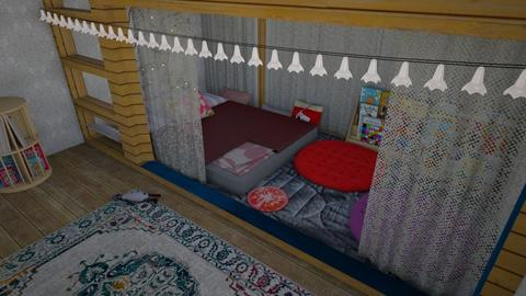 Love of books - Feminine - Bedroom - by The quiet designer