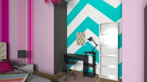 queen - Bedroom - by ohohmonica