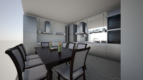Everyday kitchen - Glamour - Kitchen - by joreyam7