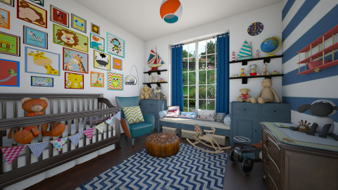 Eclectic Nursery - Eclectic - Kids room - by maja97