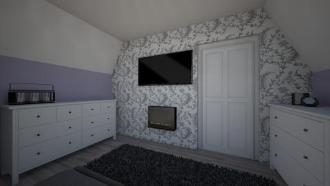 anya szoba szarcsa - Bedroom - by Anna2525