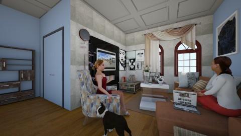 rustic essance - Rustic - Living room - by jessie mckals