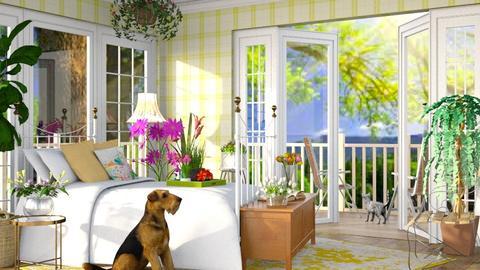 Summer Bedroom - by savannahp0562