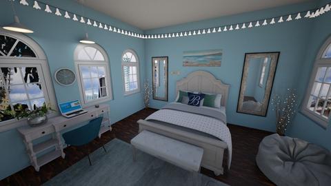 Beachy Style Bedroom - Bedroom - by katherinehartman