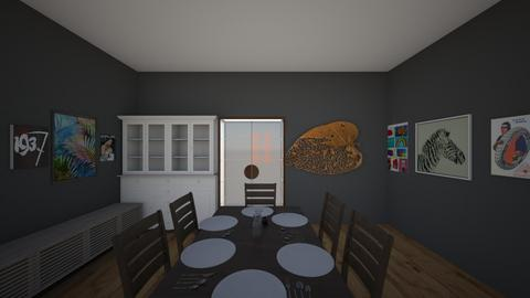dining room - Modern - Dining room - by maverick and goose