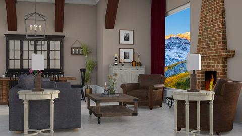 Aspen Chalet Template - by Katie Whitley