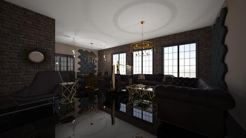 Glam living room - Glamour - Living room - by kristianvalchev