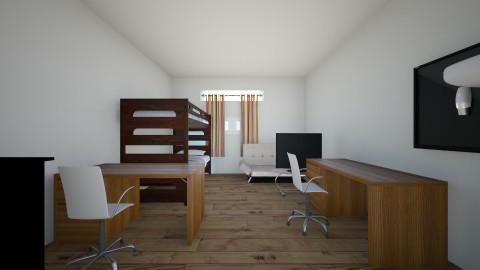 dorm 1 - Minimal - Bedroom - by Liliana Zolt