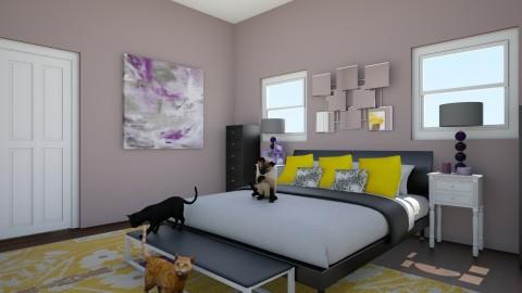 Pop of Color - Bedroom - by kaykaysplash