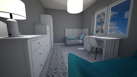 pokoj - Kids room - by pasja_