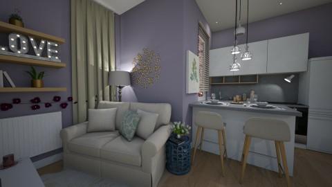 2016_11 - Modern - Living room - by MarMil25