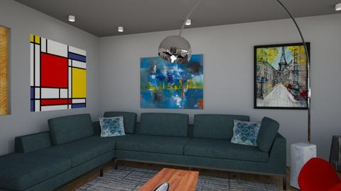 Living room - Modern - Living room - by rleidy