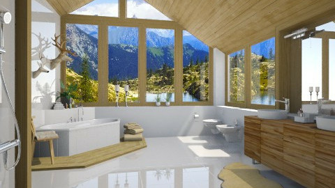 Swiss Bath - Bathroom - by MandyB84