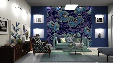 Floral  - Living room - by Alecio