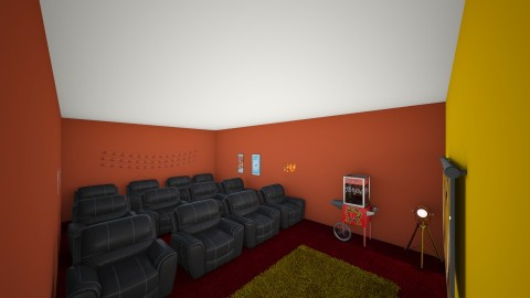 movie theater - by hadsteam