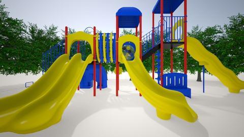 playground - Garden - by sophietheamazing