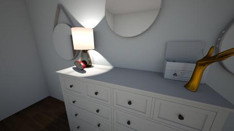 djnuiwehrduhui - Bedroom - by Brynn Larsen