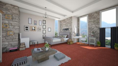 Room of hani - Rustic - Bedroom - by SandyWang