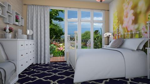 Treasure_Bed - Bedroom - by Laurika