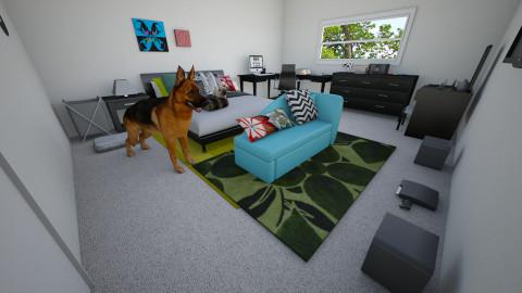 Caitlyn and KJs Room - Bedroom - by KJ Sullivan