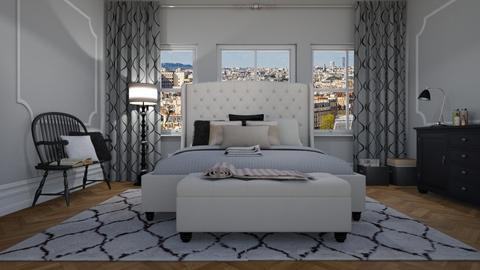 paris bedroom - by ANAAPRIL