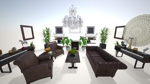 fancy - Living room - by canelita