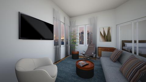 BC1br - Living room - by evakarwowska