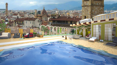 living on a florence roof - Garden - by Conchy