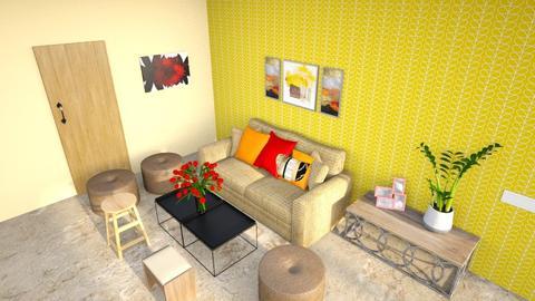 Darshan Final - Rustic - Living room - by jiltsheth