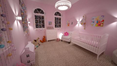 Meisjeskamer idee - Classic - Kids room - by Perta