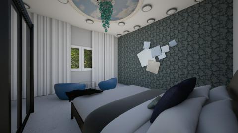 Marble floors - Bedroom - by MorganMiller