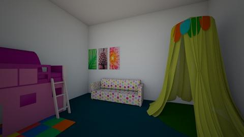 Kid girls room  - by DelaneypaigeEdwards