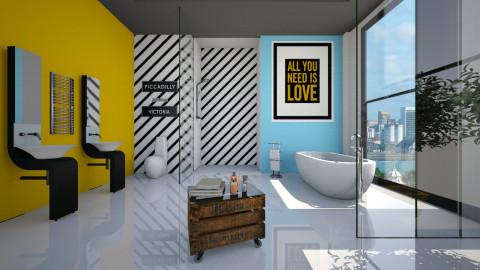 Cores Vibrantes - Bathroom - by Sanare Sousa
