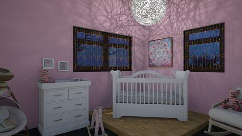 Pink Nursery - Kids room - by briellej81