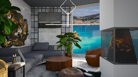 columns - Living room - by yulamalina