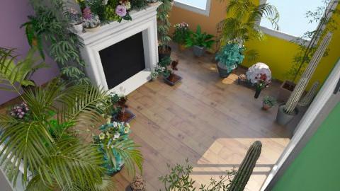 Plant room - Vintage - Garden - by peachellie