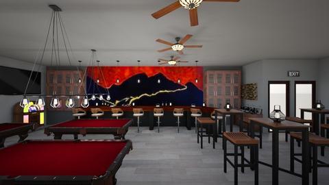 Fire Mountain Pub - by Sandra Jones