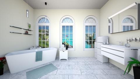 swan - Modern - Bathroom - by Alexa01