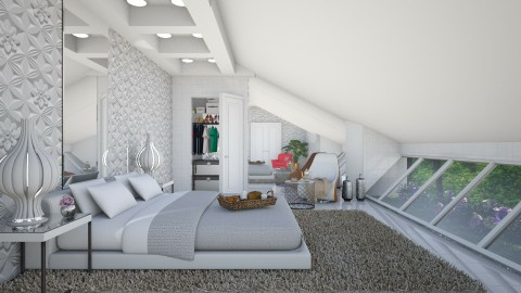 in the roof  - Modern - Bedroom - by Ida Dzanovic