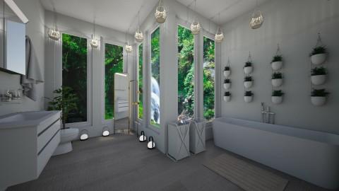 Forest Bathroom - by kennedycoleman