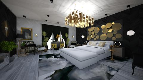 Glamour Bedroom Design - Glamour - Bedroom - by danes