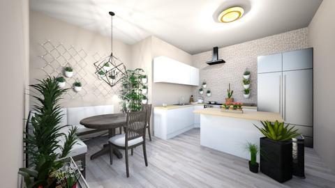 plant kitchen - Kitchen - by awhite946