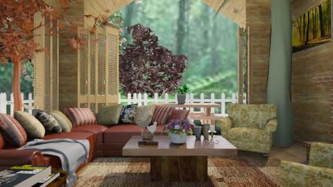 Casa da árvore - Living room - by Roberta Coelho